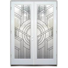 Contemporary Front Doors by Sans Soucie Art Glass