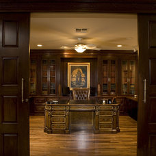 Traditional Home Office by Concierge Design & Project Management, LLC