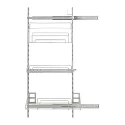 IKEA of Sweden - RATIONELL Pull-out interior fittings - Pull-out interior fittings, silver color