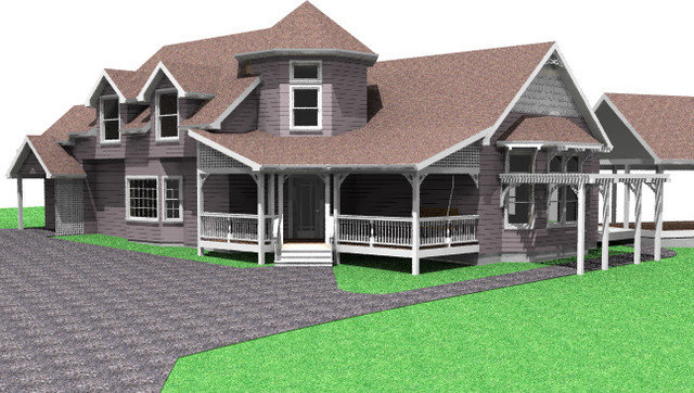 Traditional Rendering by Hyland Fisher - Architect