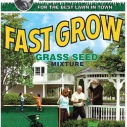 JONATHAN GREEN Fast Grow Grass Seed Mixture, Treats up to 1,500 3 Lb. - Fast Grow - Size (3 Lbs.) Great For Growing A Thick, Beautiful Lawn In Either Sunny Or Shady Areas, This Grass Seed Mix Germinates Quickly So You Can Enjoy Your Lawn Sooner. Consists Of A Hardy Mix Of Grass Seed. Available In A Variety Of Sizes.. 60% Annual Ryegrass, 20% Perennial Ryegrass, 10% Kentucky Bluegrass, 10% Creeping Red Fescue.- Size: 3 Pound