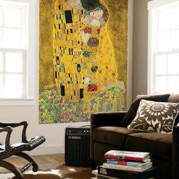 Gustav Klimt The Kiss Der Kuss Mini Mural Huge Poster Art Print -