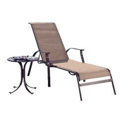 Panama Jack Island Cove Woven 2 Piece Lounge Set