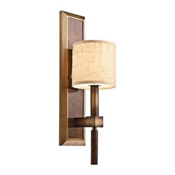Kichler - Kichler 42103CMZ 1 Light Up Lighting Wall Sconce from the Celestial Collection - Features: