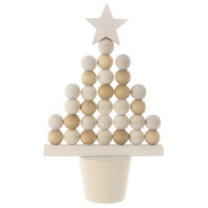 Contemporary Christmas Ornaments by Wooden Christmas Decorations