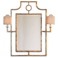 Mediterranean Wall Mirrors by Kathy Kuo Home