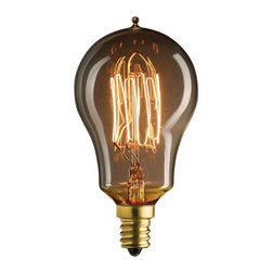 Bulbrite - Bulbrite 25W Thread Filament A15 Incandescent Edison Light Bulb - 6 pk. Multicol - Shop for Light bulbs from Hayneedle.com! For an authentic retro look the Bulbrite 25W Thread Filament A15 Incandescent Edison Light Bulb - 6 pk. is the perfect choice. The dimmable design provides energy saving choices while the antique style is just right for your vintage-inspired fixtures.About BulbriteBulbrite is a family-owned company started in 1971 and based in Moonachie New Jersey. Bulbrite is renowned for their commitment to innovation education and service. They are a leading manufacturer and supplier of innovative energy-efficient light source solutions. Bulbrite is an award-winning company. Most recently their president Cathy Choi received the 2010 Residential Lighting Industry Leadership Award and the Bulbrite Swytch LED Desk Lamp received the 2010 Home Furnishing News Award of Excellence. They have introduced award-winning products and offer an extensive line of light bulbs including LEDs HID compact fluorescents fluorescents halogens krypton/xenon incandescent bulbs and specialty lamps. Bulbrite is an active member of the ZHAGA the American Lighting Association a silver sustaining member of the Illuminating Engineering Society of North American (IESNA) an Energy Star Partner a Lighting Facts LED Product Partner a member of LUMEN Coalition and a member of the International Dark Sky Association.