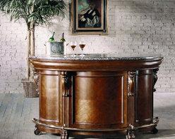 PULASKI Furniture - Edwardian Bar - 242500 - Part of the Edwardian Collection