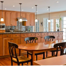 Eclectic Kitchen by Bradford And Kent