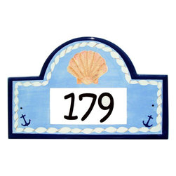 Seashells Address Plaques - To find out more and how to order click here: