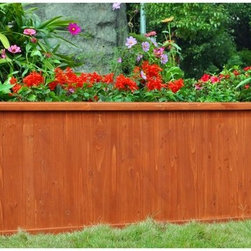Other Brands - Outerior Decor Products Monarch Rectangular Planter - 72 in. Multicolor - 130013 - Shop for Planters and Pottery from Hayneedle.com! Perfect as an herb or vegetable garden planter the Outerior Decor Products Monarch Rectangular Planter - 72 in. is much prettier than your standard raised garden bed. You can even use it as a deck box to grow small trees and shrubs. Equipped with the Piece O' Cake design this planter has foolproof corner alignment pre-drilled holes and 16 wood screws. Assembly takes only 10 minutes with just a screwdriver.About Blue Marble Designs LLCInnovative and solutions-based Blue Marble Designs crafts and sells unique garden and home decor. They pride themselves on listening closely to their customers' needs to develop products and solutions that will satisfy those needs. Their pricing is highly competitive because their overhead is low. An eco-centric company Blue Marble's efforts have resulted in shipping and packaging designs that are kind to the environment while providing their customers with the highest quality product at the lowest cost. Finally only Blue Marble Designs offers Easy Does It Assembly eco-innovative product designs that maximize product density and minimize transportation costs. All wood products are made of the highest quality renewable wood harvested only from responsibly managed forests.