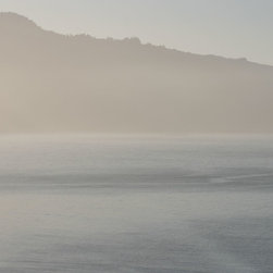 Tim Burns Photography - Early Summer Mist, 16 X20 - Early summer Mist- A morning soft awaking, soft tones blues to gray, beiges to warm whites. The sound of the surf and seagulls in the distance with a warm gentle breeze blowing.