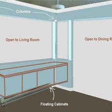 Interior Elevation by LB Interiors