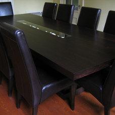 Contemporary Dining Tables by Paul Vandeborne