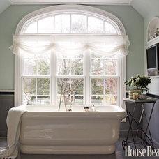 Designer Bathrooms and Pictures - Bathroom Decorating Ideas - House Beautiful#sl