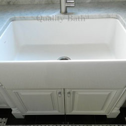 "Blanco Cerana 33"" Apron Front Single Bowl Kitchen Sink 19'' L x 31-1/2'' W x 9-1 - 33"" Apron Front Single Bowl Kitchen Sink"