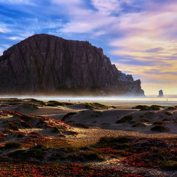 Create your style - Morro bay is a beautiful bay that can be seen by driving north from L.A California,up rte 1 towards San Fransisco.It features this giant rock in the middle of the bay known as Morro rock. when the sun is setting on the western horizon it makes for a serene and awesome view