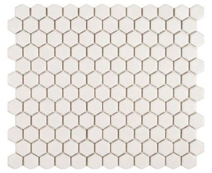 Transitional Mosaic Tile by Home Depot