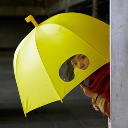 Goggles Umbrella - It's so great to see playful products for adults. This Goggles Umbrella makes me smile, and I would love to have one.