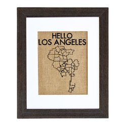 Hello Los Angeles Art