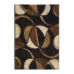 "United Weavers of America - United Weavers of America Spangles Envy Wine 5'3"" x 7'6"" Area Rugs - United Weavers of America Spangles Envy Wine 5'3"" x 7'6"" Area Rugs"