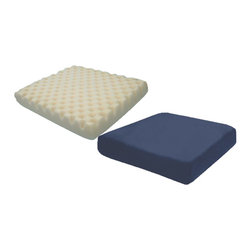 HUDSON MEDICAL - Hudson Medical Pressure Eez Four Inches Ulti-Mat Wheelchair Cushion,each - Hudson Medical Pressure Eez Four Inches Ulti-Mat Wheelchair Cushion is designed with dimpled surface for low risk pressure management. It enhances greater air flow, comfort and support, thus keeping the skin cool, dry and comfortable. It is a high resiliency foam cushion. It is available with or without a cotton cover and/or coccyx cutout. The Optional Cotton, Nylon or Rehab Covers are removable and washable.
