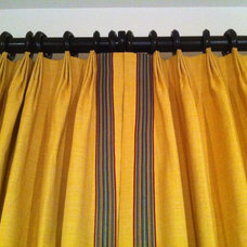 Eclectic Curtains by Curtain Pros