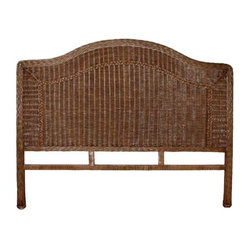 Roma Wicker Queen Headboard