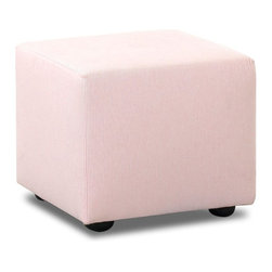 Klaussner Furniture Industries - Nursery Classic by Klaussner Cube Ottoman without Contrast Welt Multicolor - N-5 - Shop for Ottoman & Footstools from Hayneedle.com! Rest you feet on this cube ottoman and experience complete relaxation. The Nursery Classics by Klaussner Cube Ottoman can give your babys nursery a decor makeover. It comes in a wide range of fabrics and designs so you can choose on that suits your tastes. Featuring plush padding this ottoman can serve as a footrest or even as an extra seat in your living space. This USA-made ottoman has a simple yet elegant design that allows it to complement most decor themes. About KlaussnerNursery Classics the newest division of Klaussner Home Furnishings was developed to provide consumers with glider rockers upholstered rocking chairs and swivel-glide recliners that combine the best quality design and fabric selection available in the infant industry. In addition you can expect 1st class service in working with us products ship quickly and without issues. With over a dozen products and over 100 fabrics to choose from you can customize the perfect chair to match your nursery. As a recognized leader in the furniture industry Klaussner has always prided itself on providing consistent quality tremendous service and well-merchandised product. Together these strengths have allowed the company to become the 4th largest manufacturer in the US Market. Headquartered in the historic furniture capital of the North Carolina triad Nursery Classics products are produced domestically by furniture craftsmen in our facilities in Asheboro.