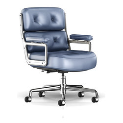 Herman Miller - Eames Executive Work Chair - You are expected to adjust to any work situation. Lucky for you, you have the right chair for the job. This Eames work chair is fully adjustable and doesn't sacrifice looks for comfort. Futuristically styled, ergonomically correct and absolutely gorgeous deep leather padding. Don't go to work without it!