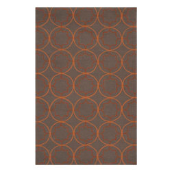 Surya - Surya Rain RAI-1095 (Wenge, Pecan) 8' Round Rug - Rain or shine, these rugs look great outdoors! These hand hooked all weather rugs are manufactured to withstand the rigors of outdoor use. You don't need to worry about ruining your rug by spilling a drink or dropping food, just hose off and it's clean! The colors and designs we specially created to add to the outdoor ambiance.