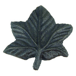 None - Leaf 2-inch Iron Cabinet Knobs (Case of 24) - The Leaf Collection is an innovative cabinet hardware original, featuring a lifelike leaf design. The intricate details on this hardware brings a natural and organic feel to your home.