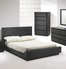 contemporary beds Castella Designer Platform Bedroom Suite By Huppe