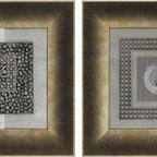 Paragon Decor - Revolution II Set of 2 Artwork - Exclusive Mixed Media - No Glass