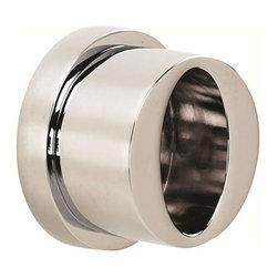 Alno Inc. - Alno Contemporary Iii Shower Rod Brackets Chrome - Alno Contemporary Iii Shower Rod Brackets Chrome