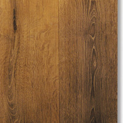 BODIAM - bog oak flooring + special TimeShift finishing - The colour of these floorboards reminds the colour of the castles rock walls that have withstood many trials by fire.