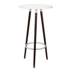 The Tycho Stool in Walnut - There's something undeniably planetary about our Tycho Stool, hence its namesake! Constructed of our classic, buttery beech wood, the Tycho is as hard-wearing as it is hard-hitting. Its simplicity lends the stool a remarkable versatility, and the stool looks fantastic in pairs or groupings. Available in beech wood and our walnut finish.