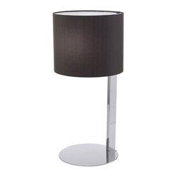 EGLO - Eglo 90126A Chrome 1X60W Table Lamp - EGLO 90126A Chrome 1x60W Table Lamp
