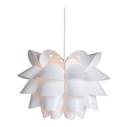 Brylle/Jacobsen - Knappa Pendant Lamp - This is the perfect ceiling light for your contemporary chick. At that price I might even consider buying three and hanging them together at varying heights.