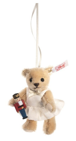 Steiff - Steiff Clara The Nutcracker Christmas Ornament - The ballet has become a holiday tradition, as Clara has danced her way into our hearts. Now she can adorn your Christmas Tree in the form of this very special ornament –