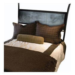 Mathews & Company - Chanal Wrought Iron Headboard with Zinc - Our overview of the new Chanal Wrought Iron Headboard with Zinc is on its way but you can still purchase this remarkable piece of artistic work for your master suite. If you have questions about the product just drop a line or send us an email!Pictured in Black finish.