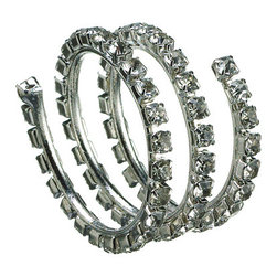 Silk Plants Direct - Silk Plants Direct Crystal Jewel Napkin Ring (Pack of 12) - Pack of 12. Silk Plants Direct specializes in manufacturing, design and supply of the most life-like, premium quality artificial plants, trees, flowers, arrangements, topiaries and containers for home, office and commercial use. Our Crystal Jewel Napkin Ring includes the following:
