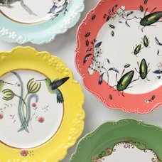 Eclectic Salad And Dessert Plates by Anthropologie
