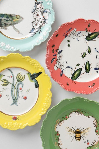 Eclectic Dinner Plates by Anthropologie