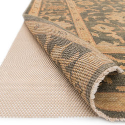 """Loloi Rugs - Loloi Rugs Premium Grip Rug Pad Collection - Beige, 2'-0"""" x 4'-0"""" - Easily Trimmed to fit. Prevents rug from wrinkling, buckling, shifting and slipping.  Offers superior air circulation and makes vacuumming easier."""
