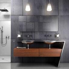 Modern Bathroom Vanities And Sink Consoles by Dayoris Custom Woodwork