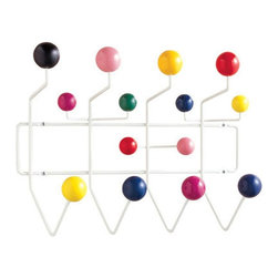 Control Brand - Hang Its Coat Rack (Black) - Color: BlackBrightly colored lacquered maple wood balls. Made from coated steel wire. Made in Taiwan. 19.75 in. W x 7 in. D x 15.5 in. H (2.86 lbs.)