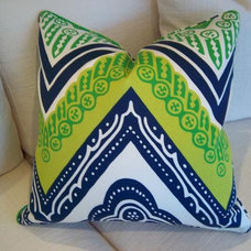 Eclectic Decorative Pillows by Hudson
