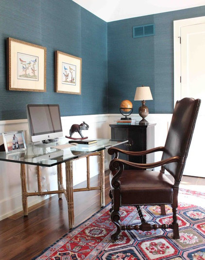 Contemporary Home Office by Nadia Watts Interior Design