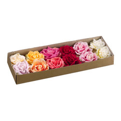 Silk Plants Direct - Silk Plants Direct Floating Rose (Pack of 12) - Silk Plants Direct specializes in manufacturing, design and supply of the most life-like, premium quality artificial plants, trees, flowers, arrangements, topiaries and containers for home, office and commercial use. Our Floating Rose includes the following: